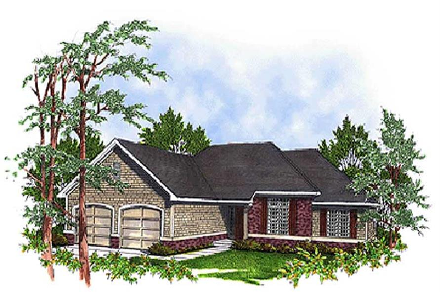 Main image for house plan # 17062