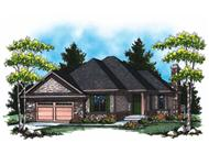 Main image for house plan # 16991