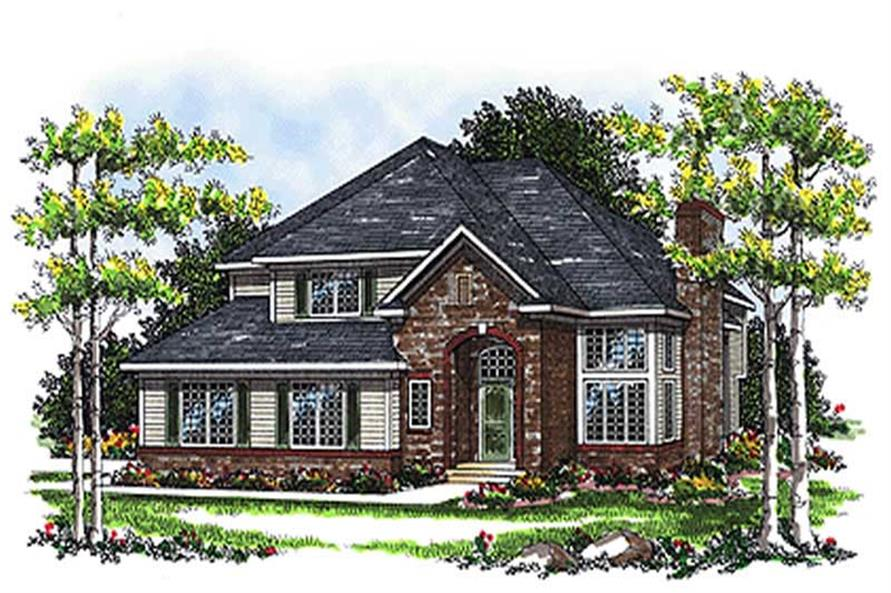Main image for house plan # 17068