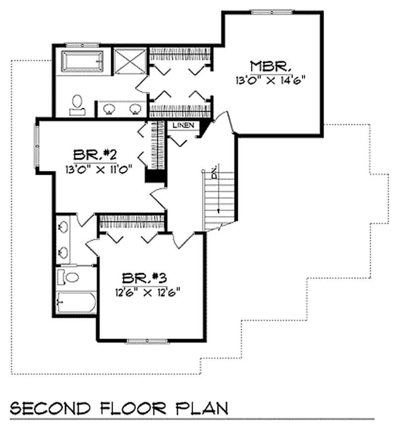 House Design 101: European Home With 3 Bedrooms, 1850 Sq Ft