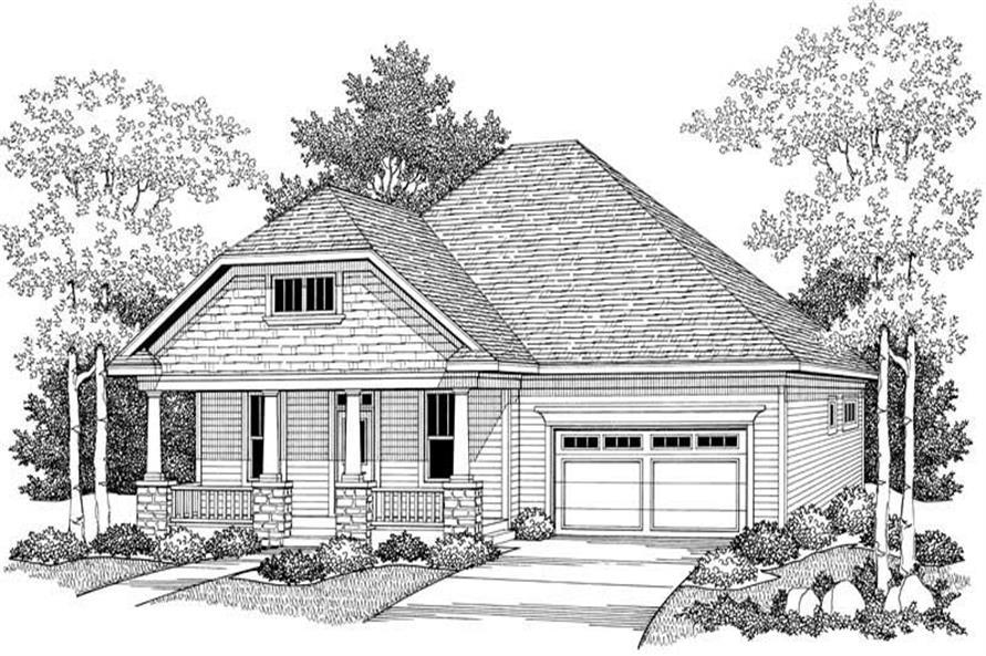 House Plan #101-1055
