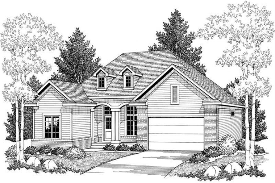 House Plan #101-1059