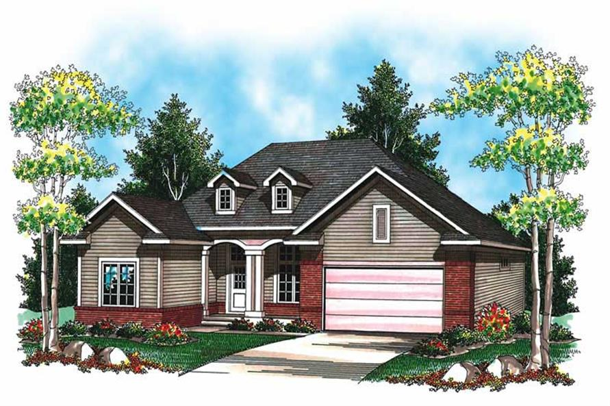 Main image for house plan # 19475