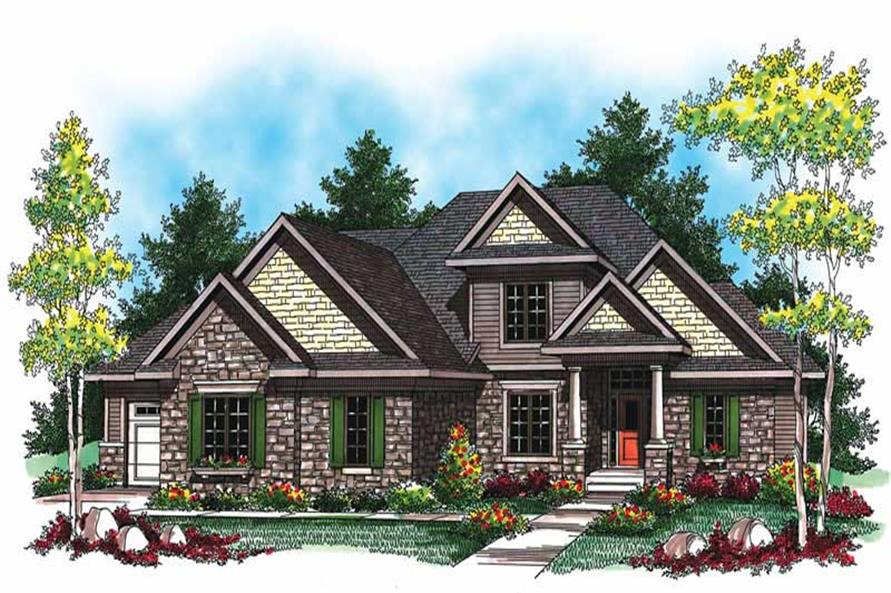Main image for house plan # 19488