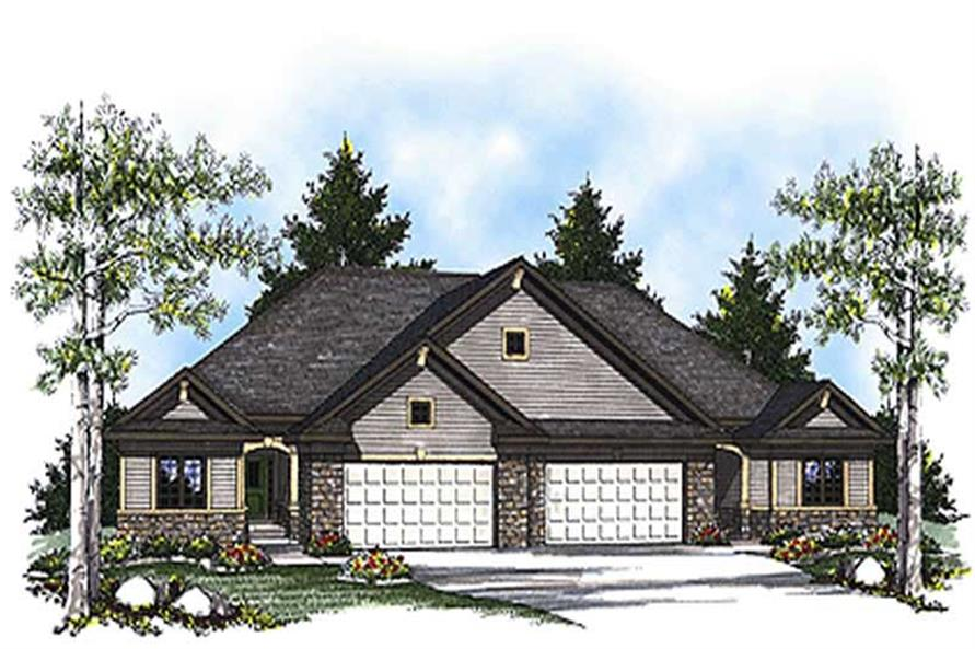 Main image for house plan # 17175