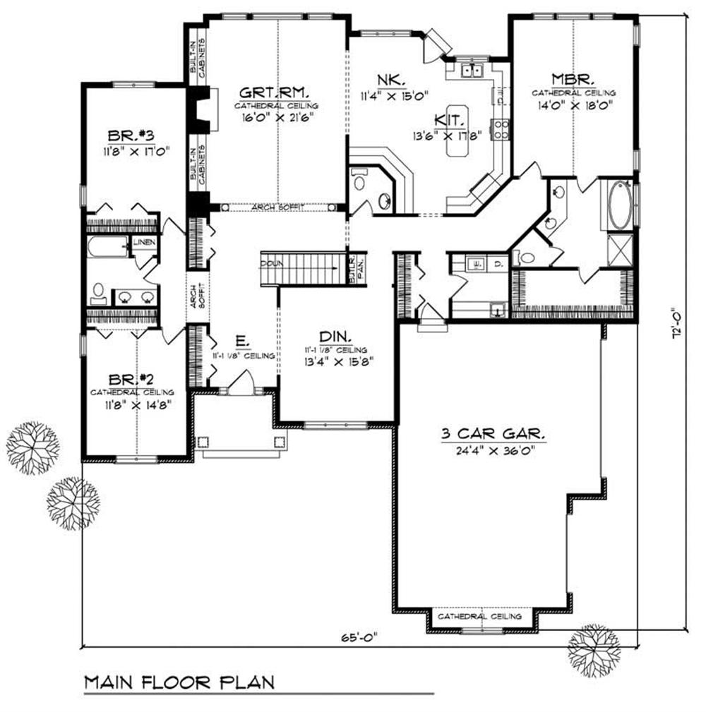 House Design 101: Large Images For House Plan 101-1080