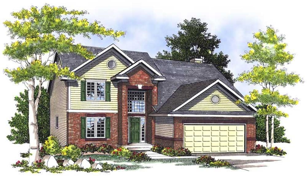 Main image for house plan # 13574