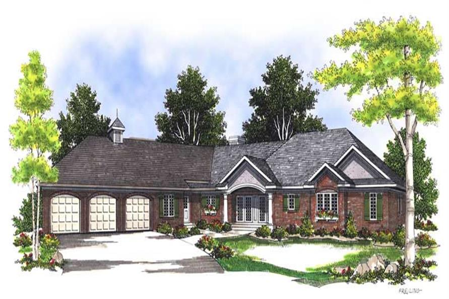 Main image for house plan # 13569
