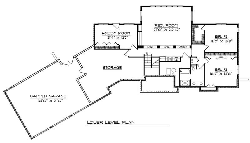 ranch traditional home with 3 bedrooms 4464 sq ft