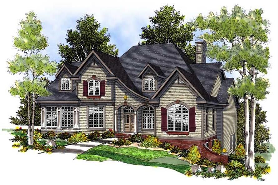 Main image for house plan # 13601