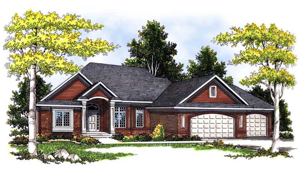 Main image for house plan # 13558