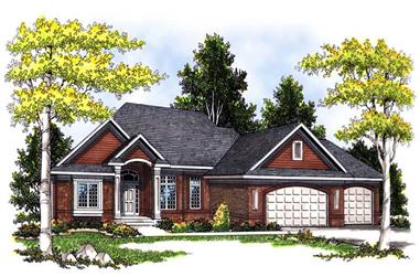 Ranch House plans between 2200 and 2300 square feet
