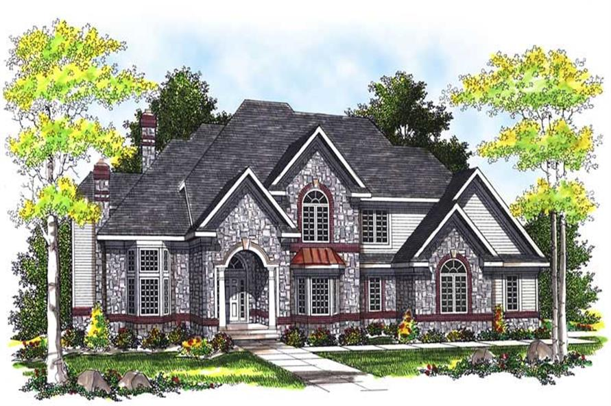 Main image for house plan # 13483