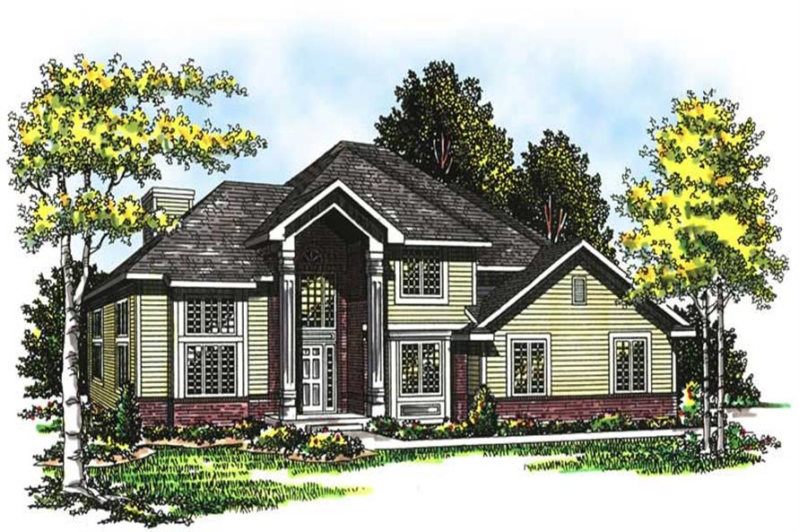 Main image for house plan # 13447