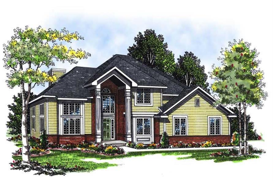 Main image for house plan # 13322