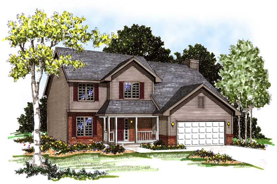 Main image for house plan # 13317