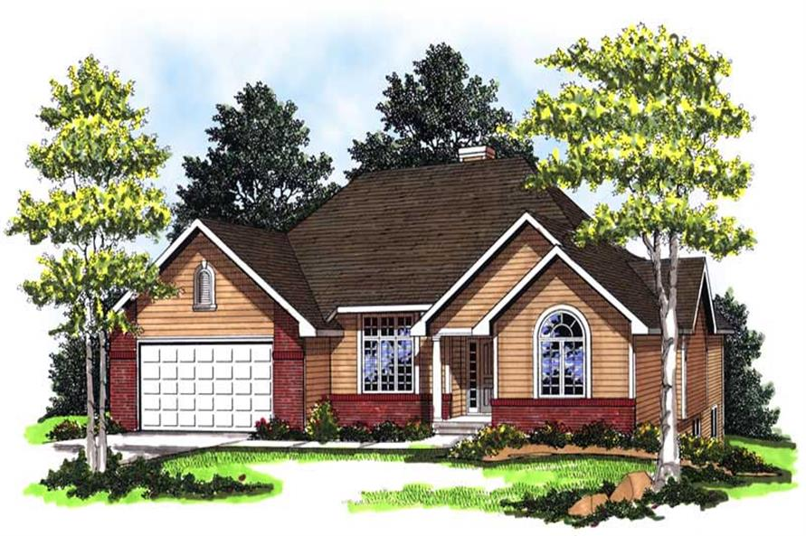 Main image for house plan # 13310