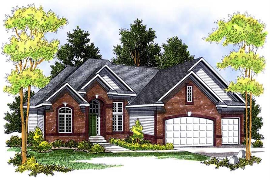 Main image for house plan # 13689