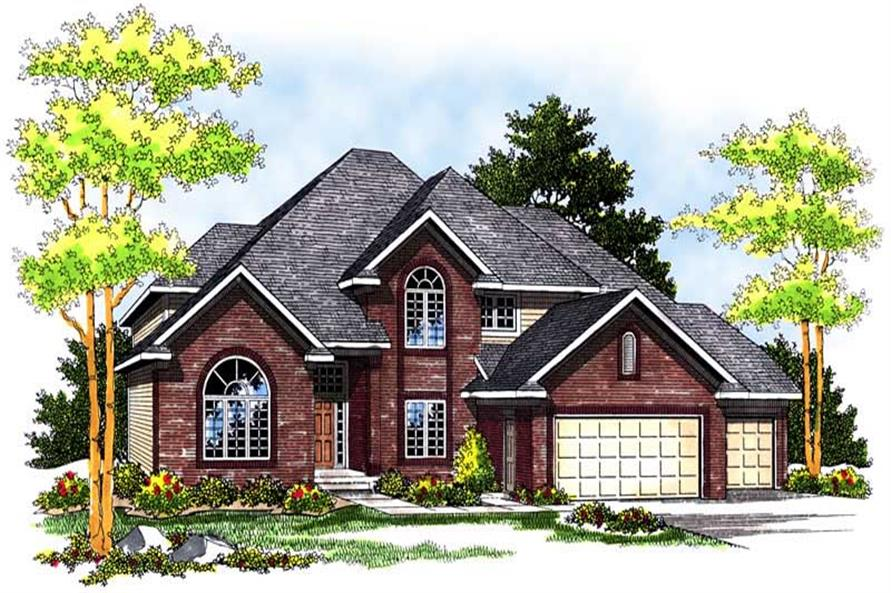 Main image for house plan # 13676