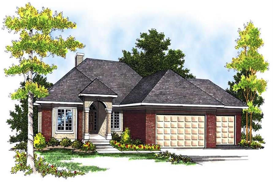 Main image for house plan # 13616