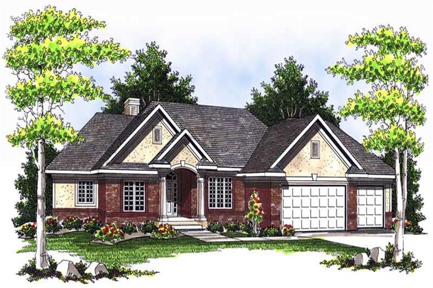 Main image for house plan # 13707