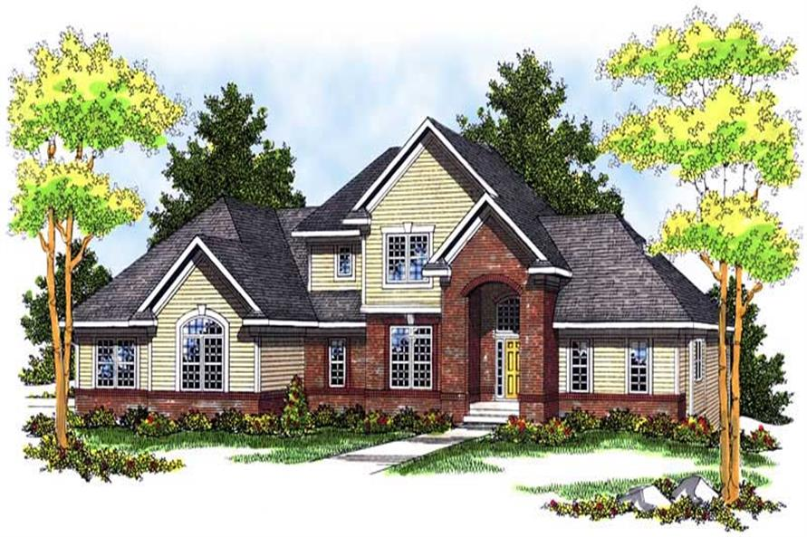 Main image for house plan # 13693