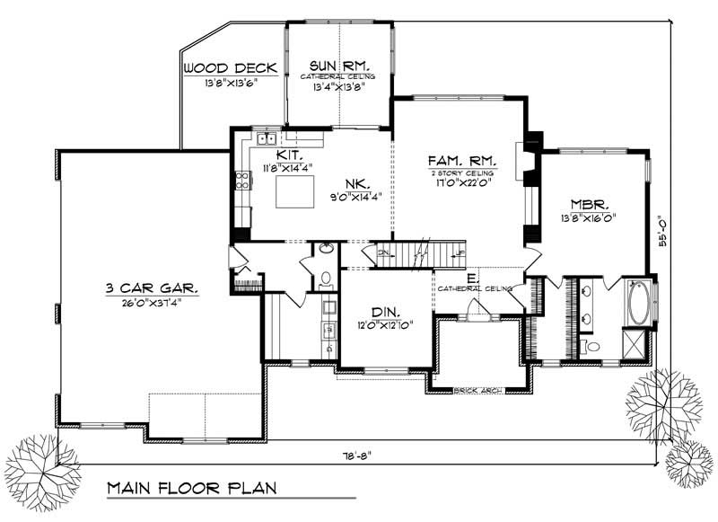 European home with 3 bdrms 2462 sq ft house plan 101 1125 for 1125 sq ft floor plan