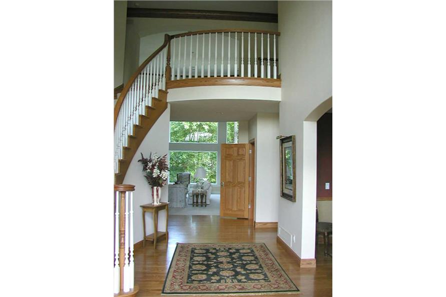 Entry Hall: Staircase of this 4-Bedroom,5185 Sq Ft Plan -5185