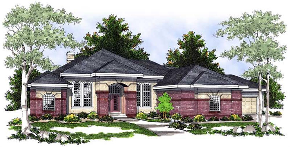 Main image for house plan # 13685