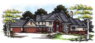 Main image for house plan # 13340