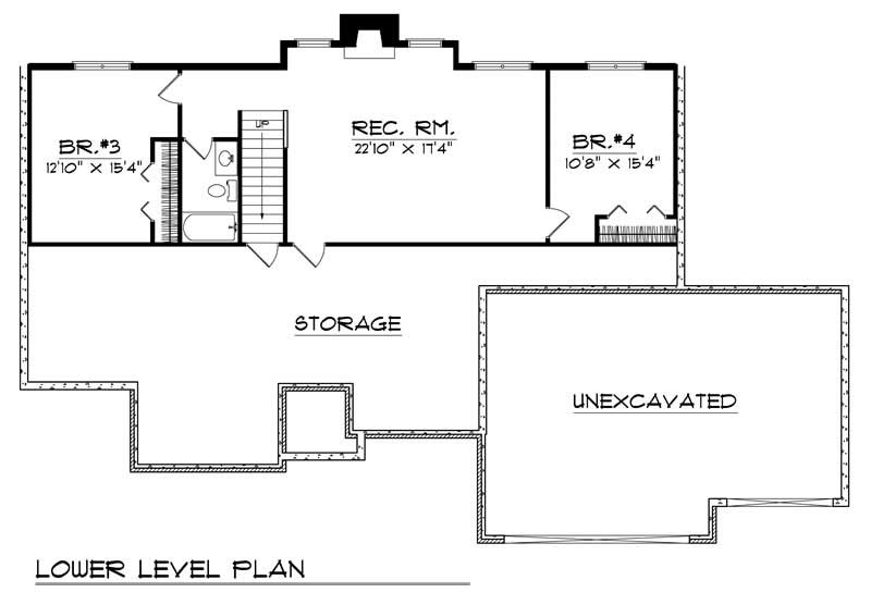 ranch home with 4 bdrms 2629 sq ft house plan 101 1129