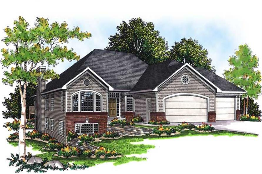 2-Bedroom, 2238 Sq Ft Ranch Home Plan - 101-1138 - Main Exterior