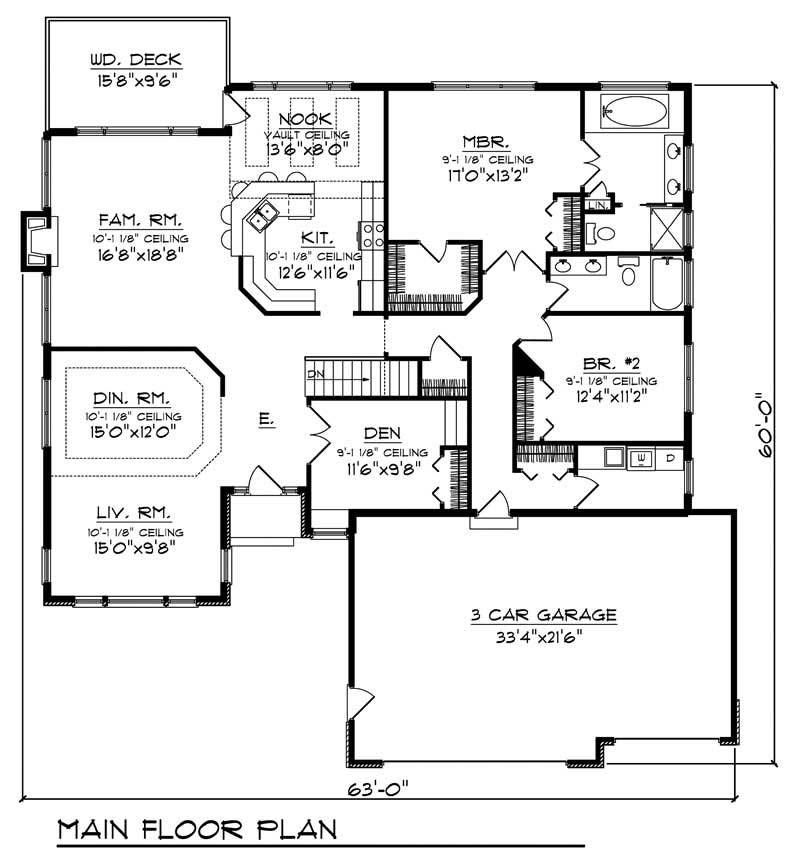 House Design 101: Ranch Home With 2 Bdrms, 2238 Sq Ft