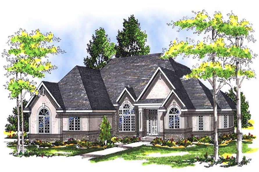 Main image for house plan # 13455