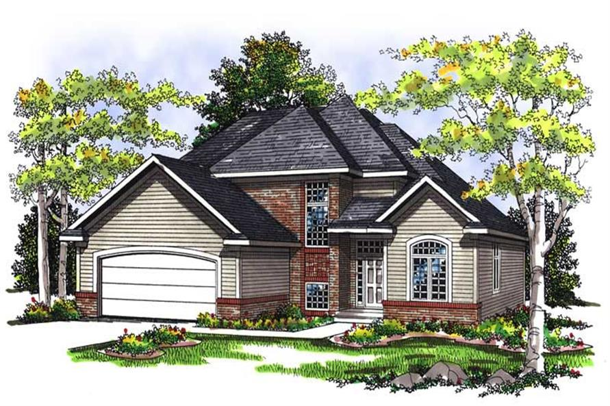 Main image for house plan # 13445