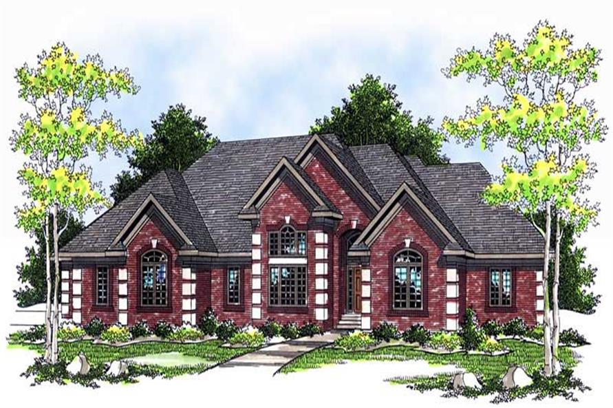 2-Bedroom, 2620 Sq Ft Ranch Home Plan - 101-1148 - Main Exterior