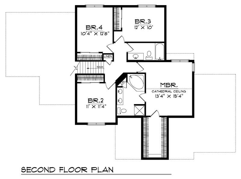 Ranch Home With 4 Bdrms 2214 Sq Ft Floor Plan 101 1150