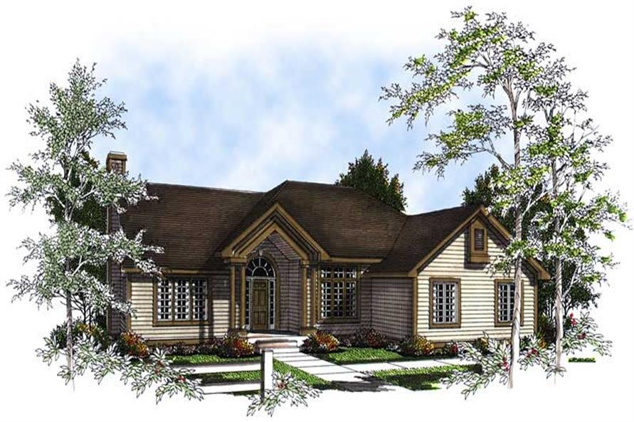 Main image for house plan # 13369