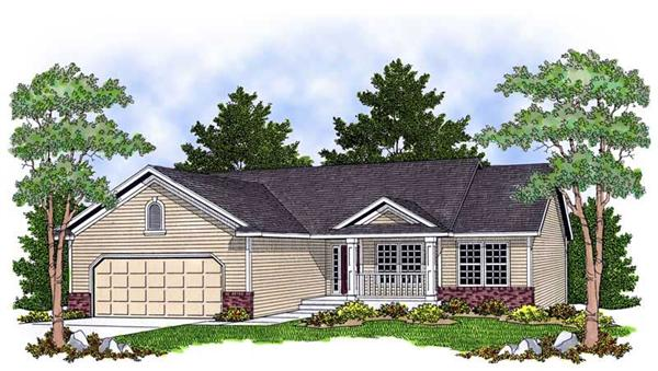 Main image for house plan # 13809