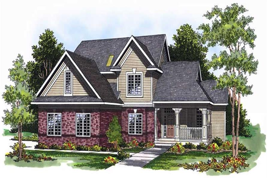 Main image for house plan # 13732