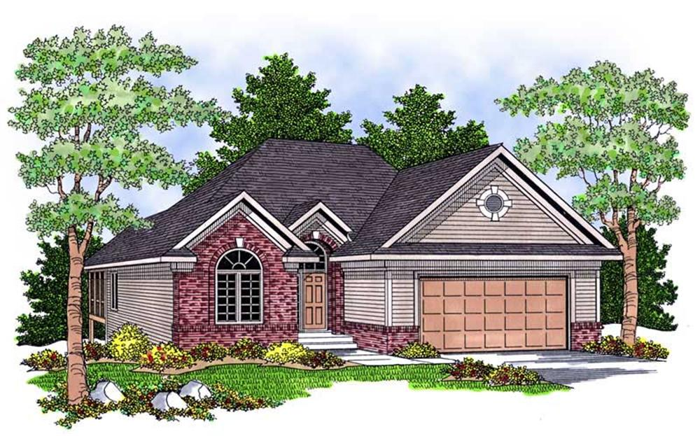 Main image for house plan # 13806