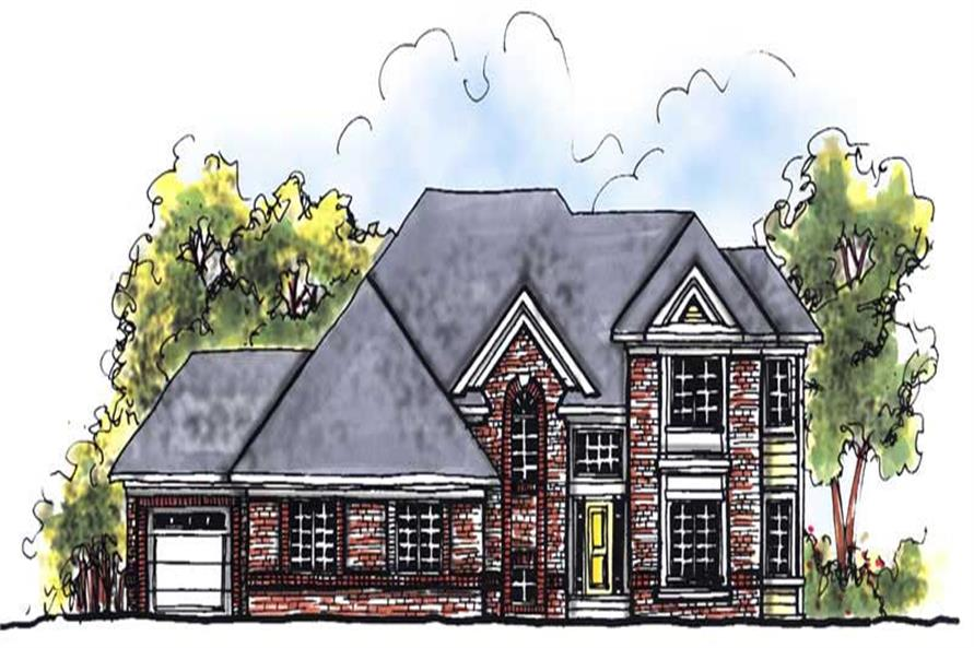 Main image for house plan # 13955