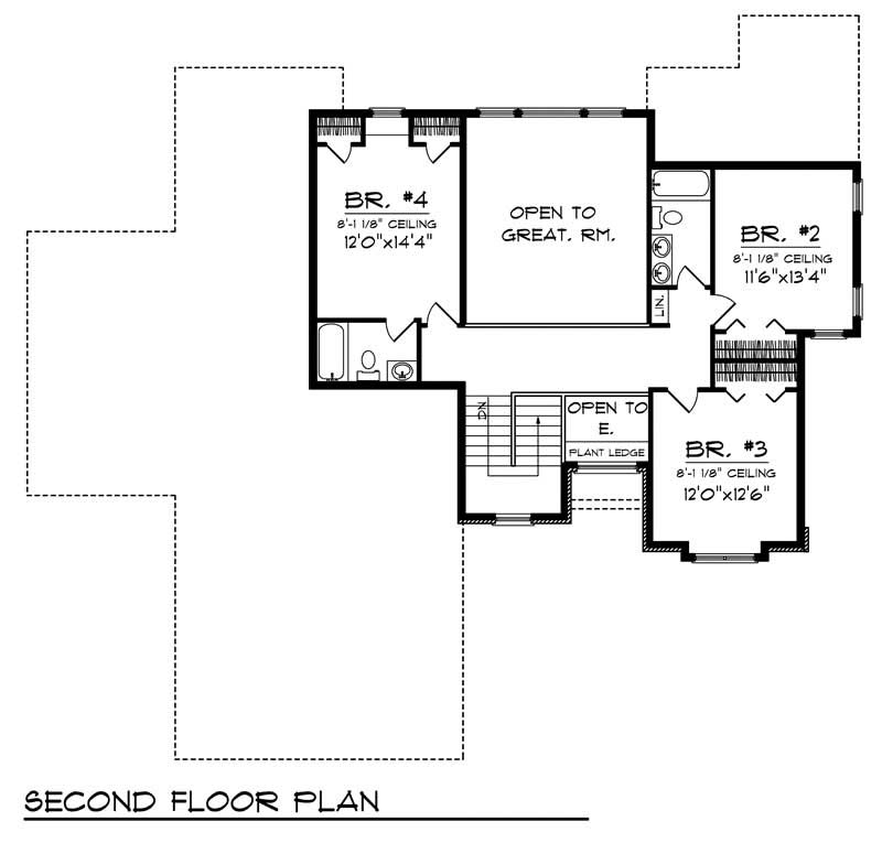 House Design 101: Ranch Home With 4 Bdrms, 2795 Sq Ft