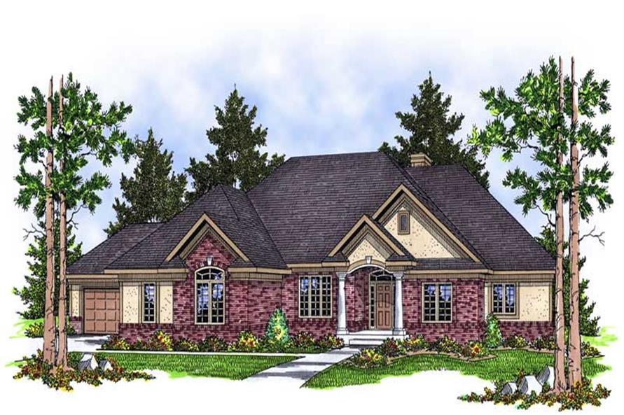 Main image for house plan # 13812