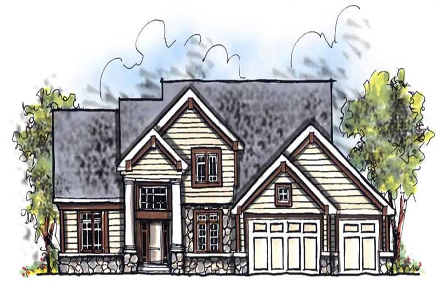 Main image for house plan # 13961
