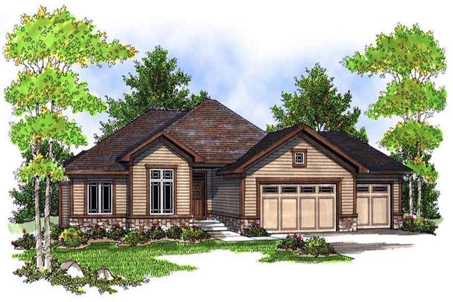 Main image for house plan # 13973