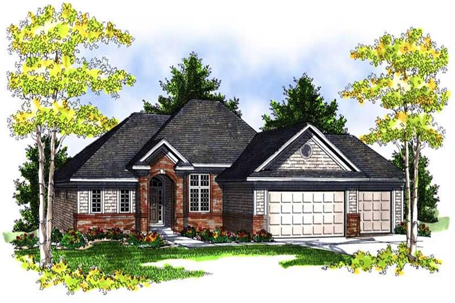 Main image for house plan # 13979
