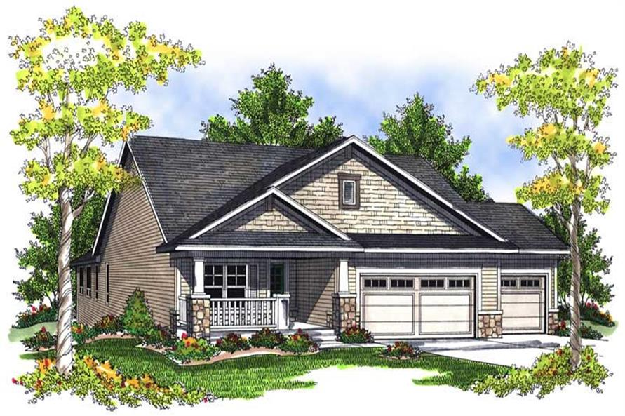 Main image for house plan # 13980