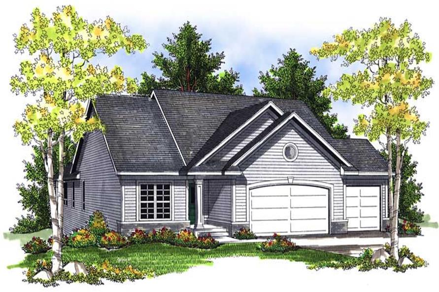 4-Bedroom, 2787 Sq Ft Country House Plan - 101-1193 - Front Exterior