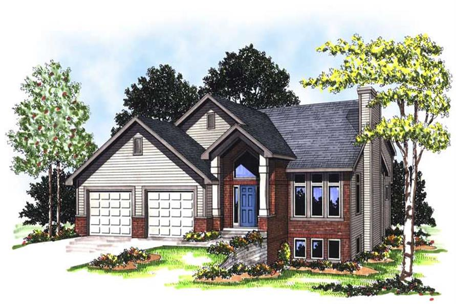 Main image for house plan # 13316